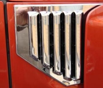 Hummer H2 2002 - 2006 Chromed Vent Covers - Direct 4x4 Autozubehör