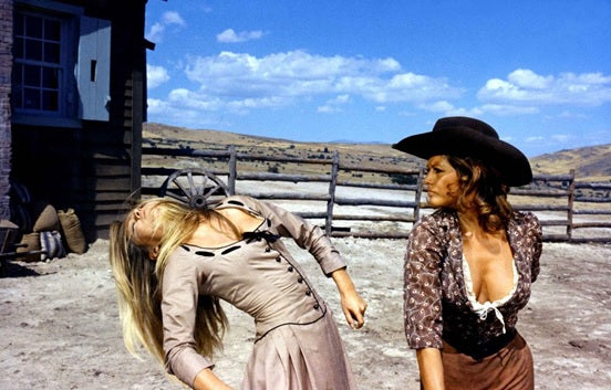 CLAUDIA CARDINALE AND BRIGITTE BARDOT