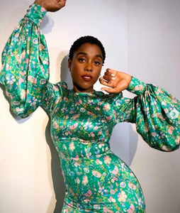 LASHANA LYNCH BLOSSOMS!