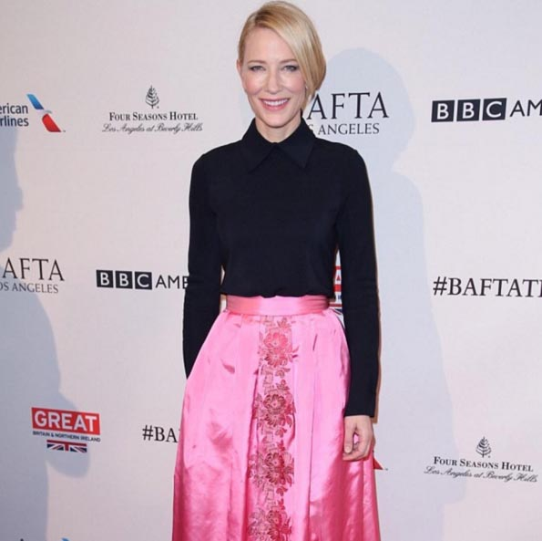Cate Blanchett at The BAFTA Tea Party