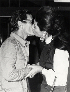 Maria Callas and Pier Paolo Pasolini