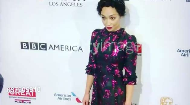 Ruth Negga wearing The Vampire's Wife at The BAFTA Tea Party
