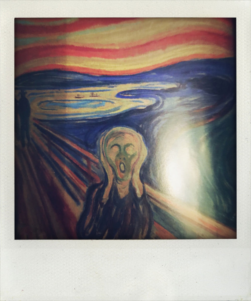 The Scream emerges!