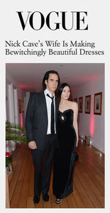 Nick Cave's Wife Is Making Bewitchingly Beautiful Dresses