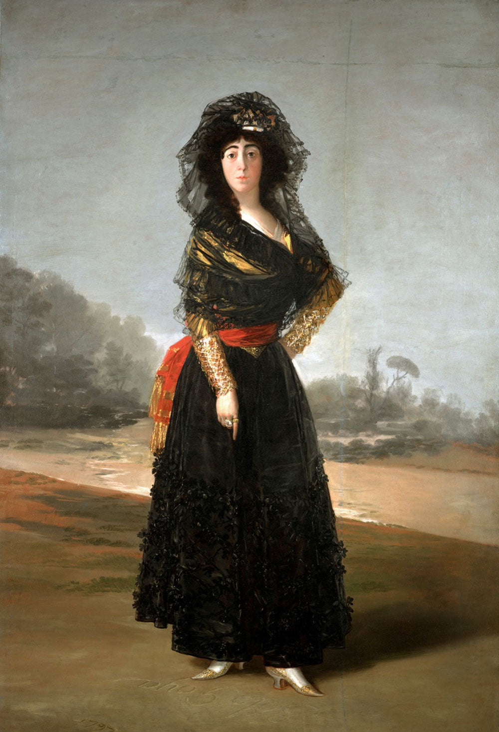 Goya - The Black Duchess