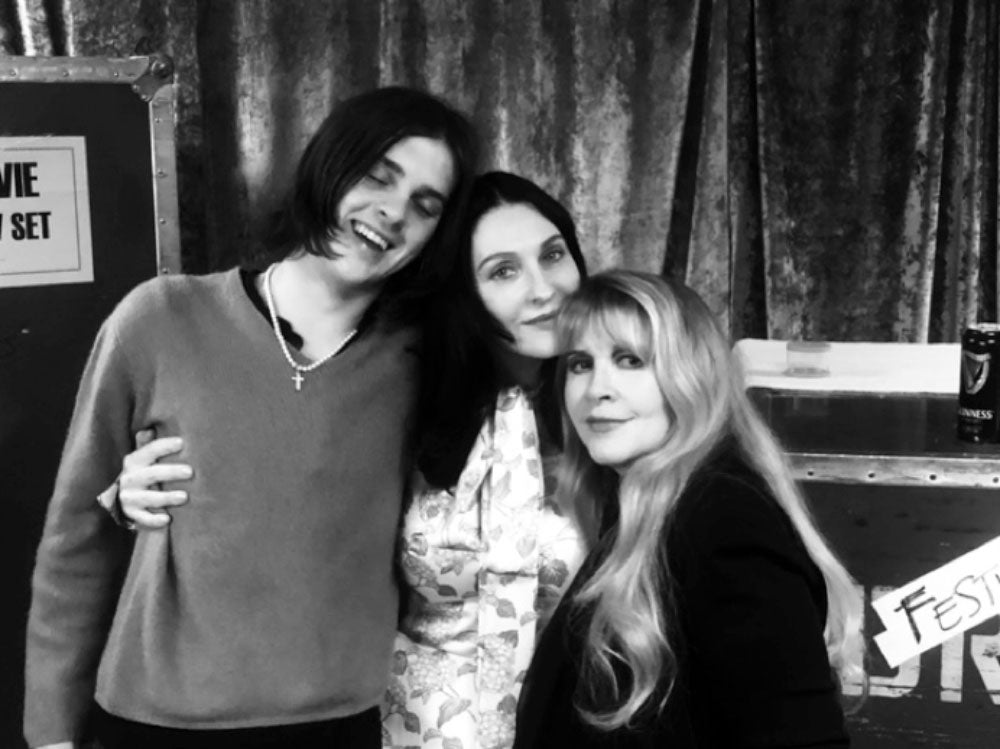 Earl & Susie Cave with Stevie Nicks