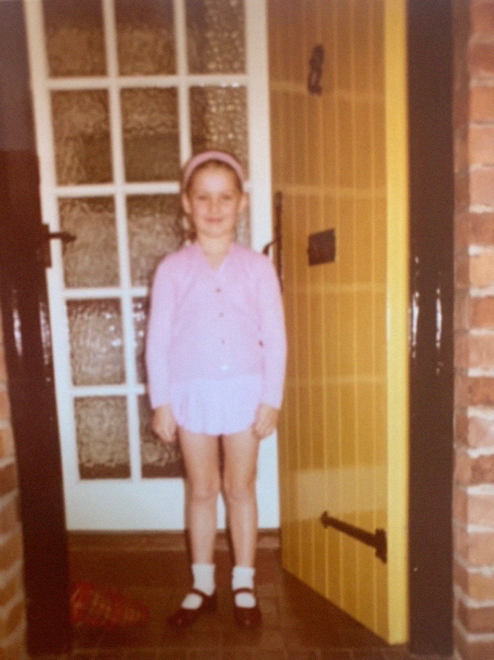 Susie Cave aged 6