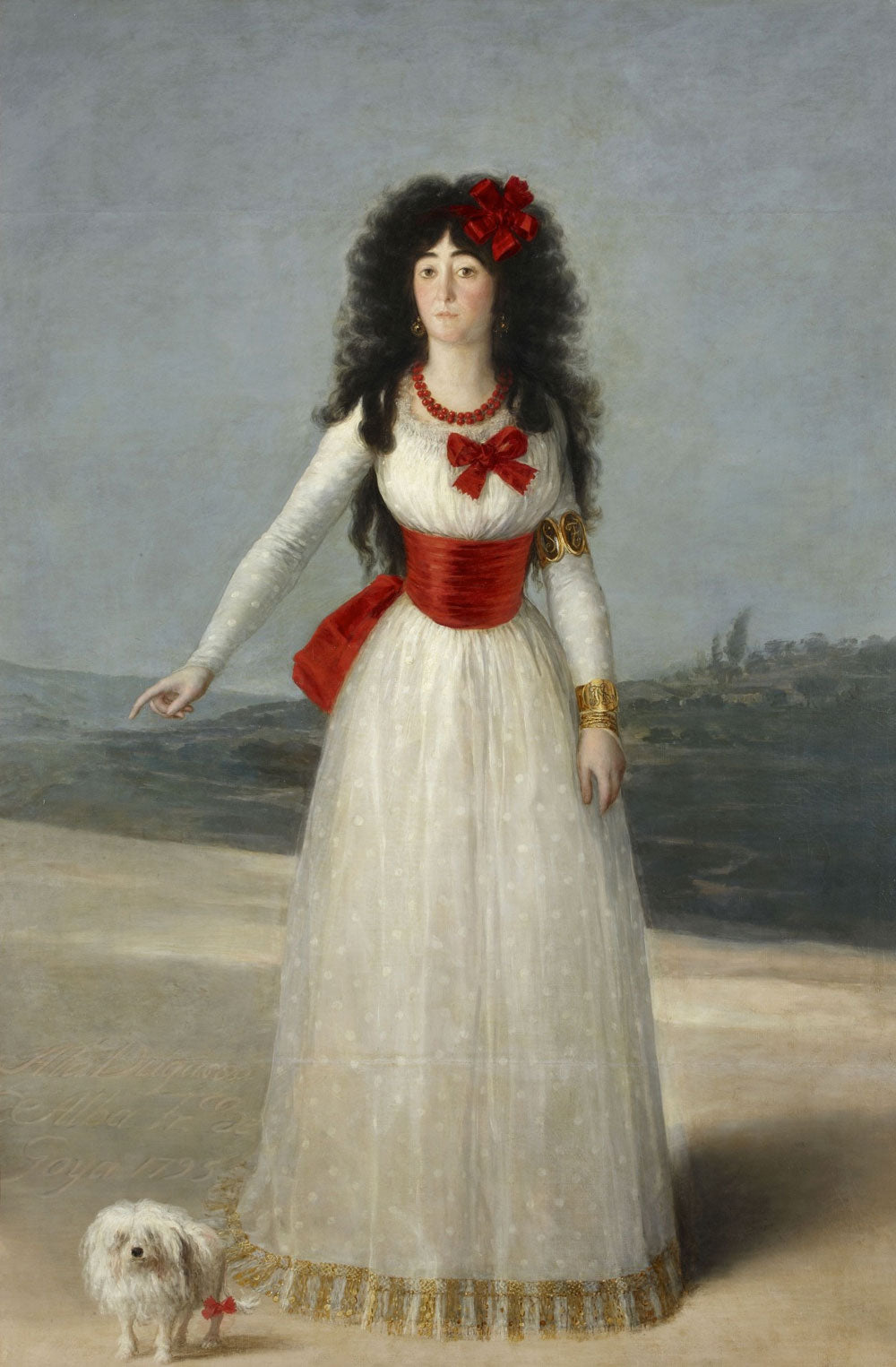 Goya - The White Duchess