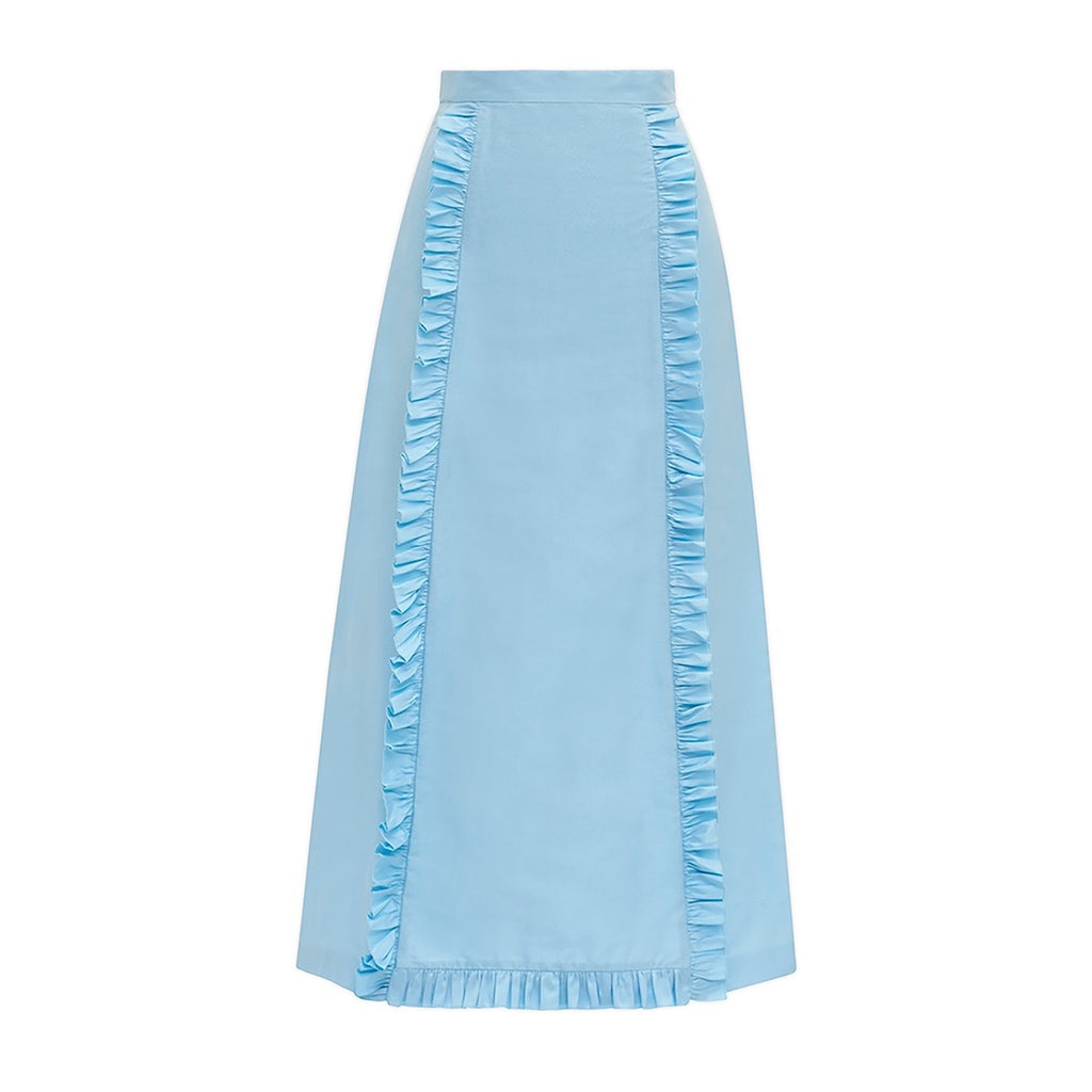 The Vampire's Wife Tee Pee Skirt Pale Blue