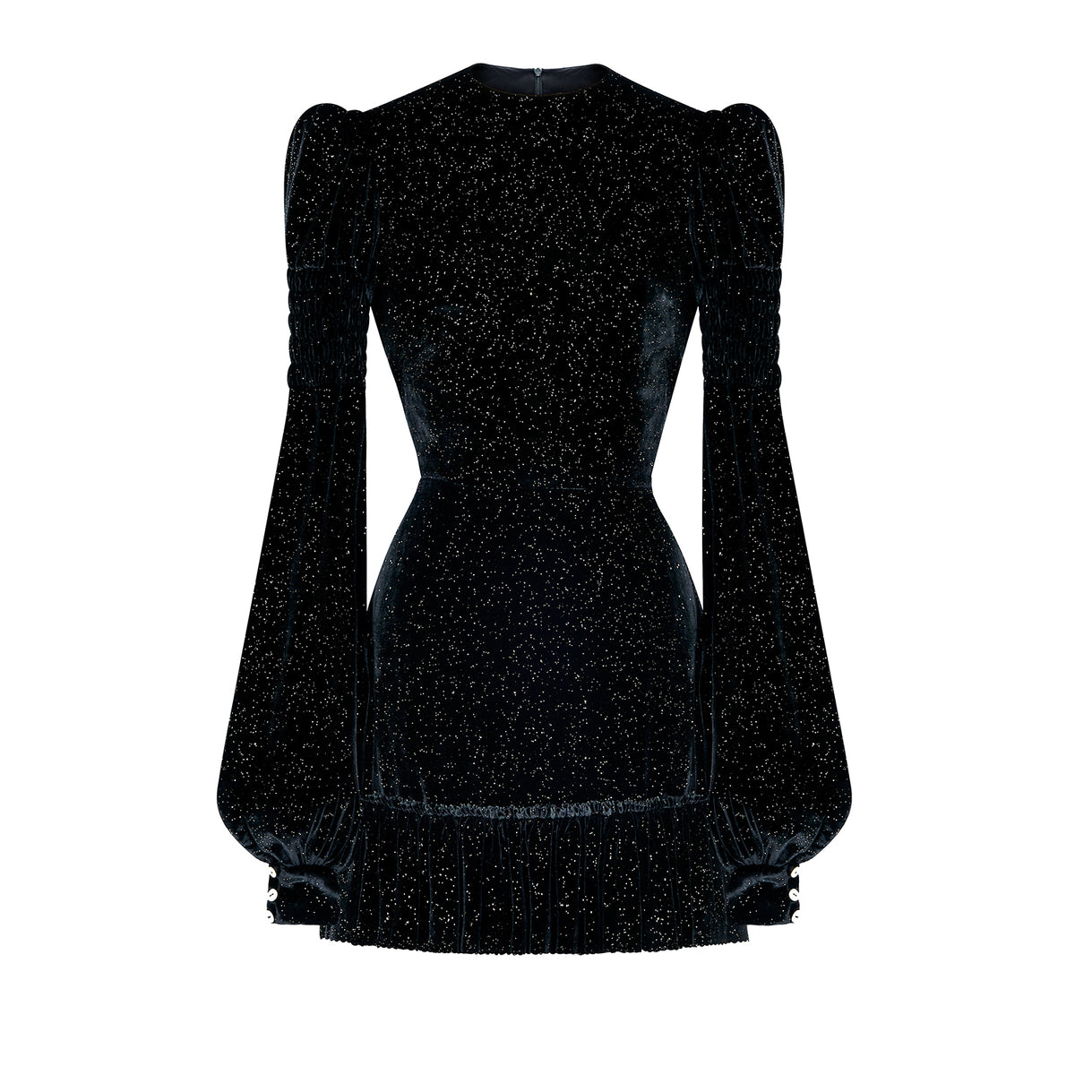 THE SPARKLE VELVET RUNAWAY DRESS