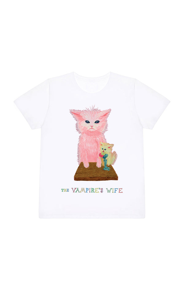 THE ICE CREAM CAT T SHIRT