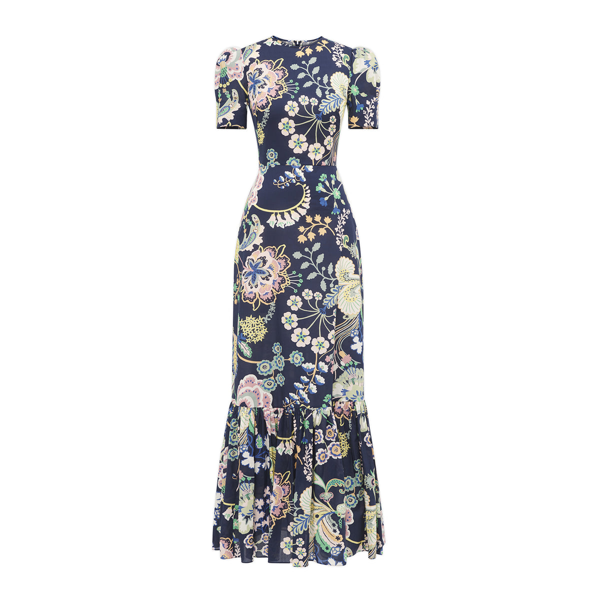 THE JUNO NAVY FLORAL DRESS