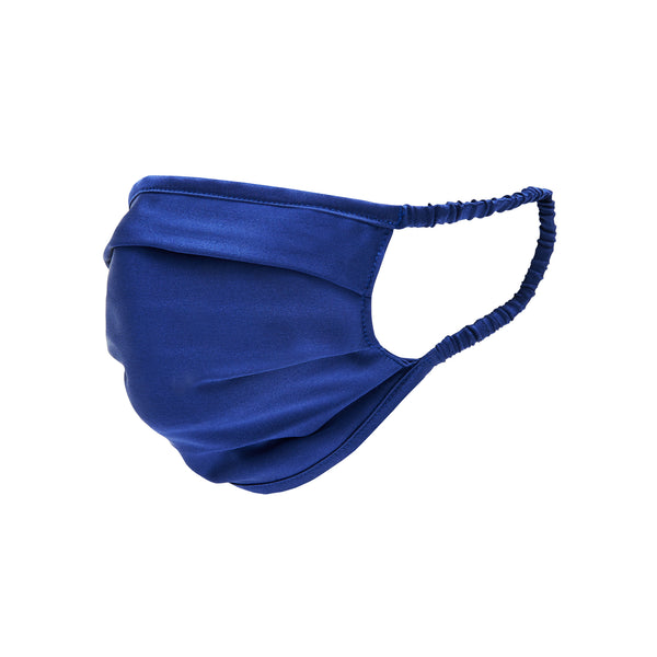 The Royal Blue Silk Unisex Face Mask