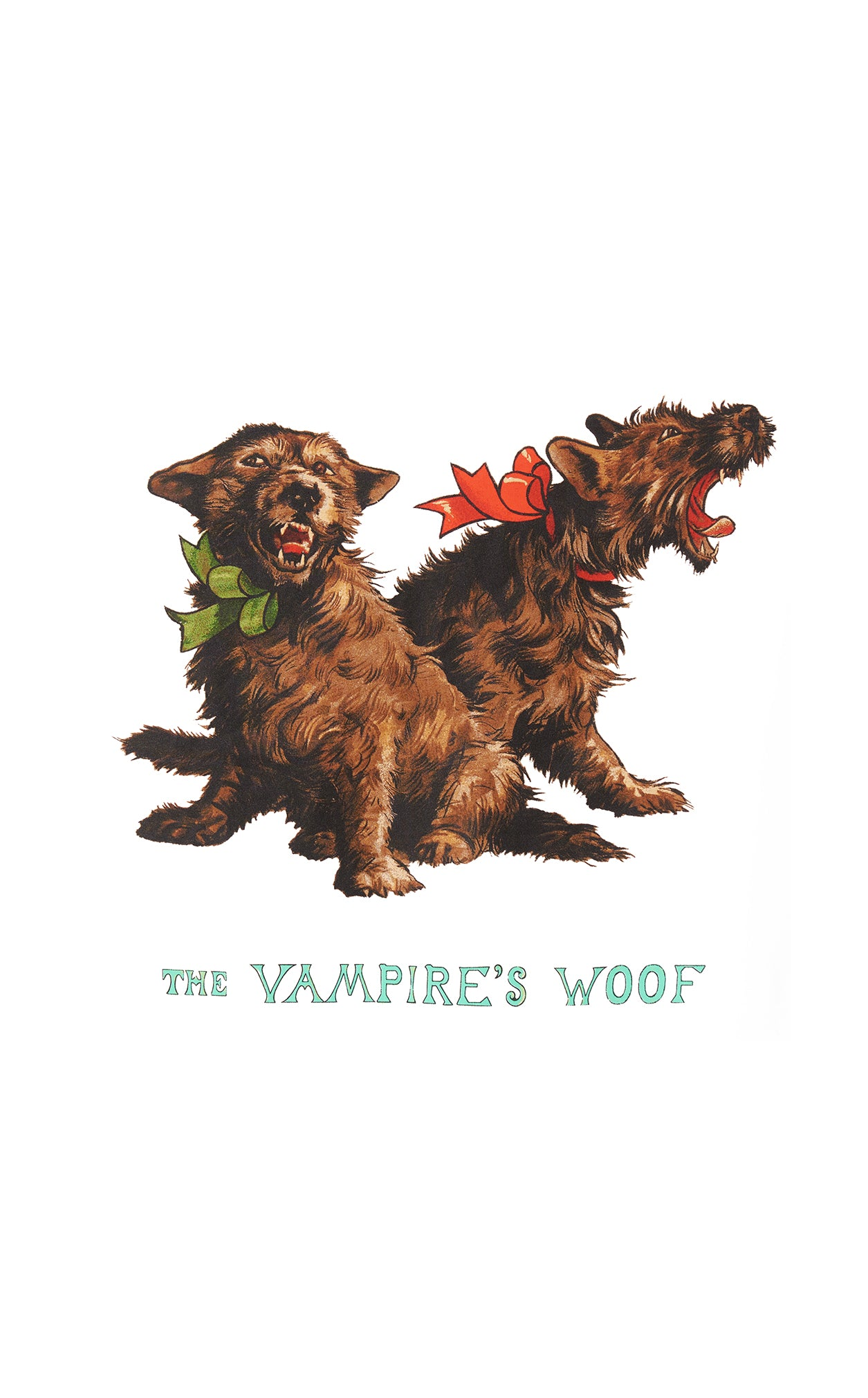 THE VAMPIRE'S WOOF T SHIRT