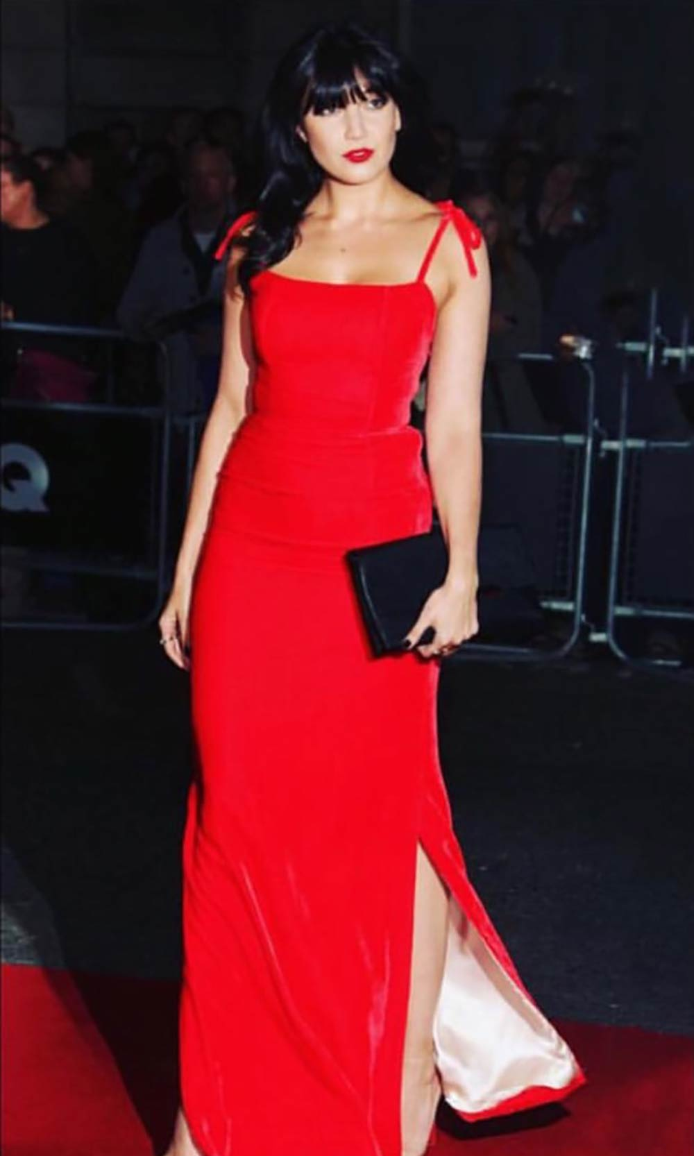 Daisy Lowe wears The Vampire's Wife to the GQ awards.