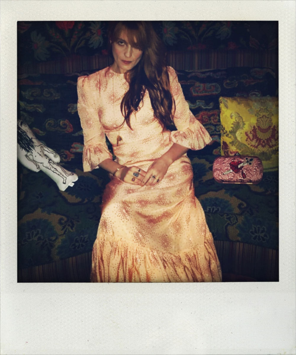 Florence Welch wears The Vampire's Wife
