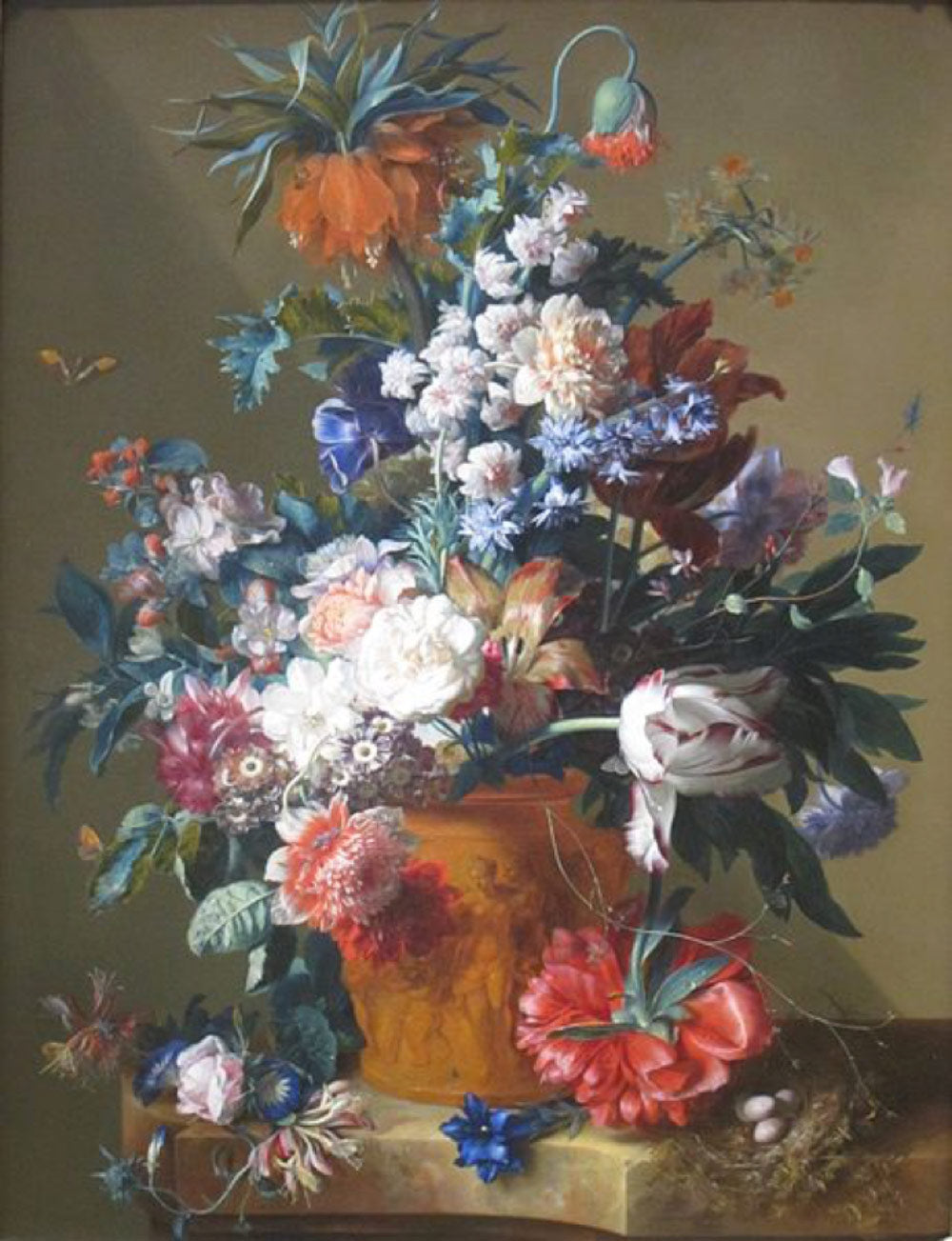 Jan van Huysum painting of flowers