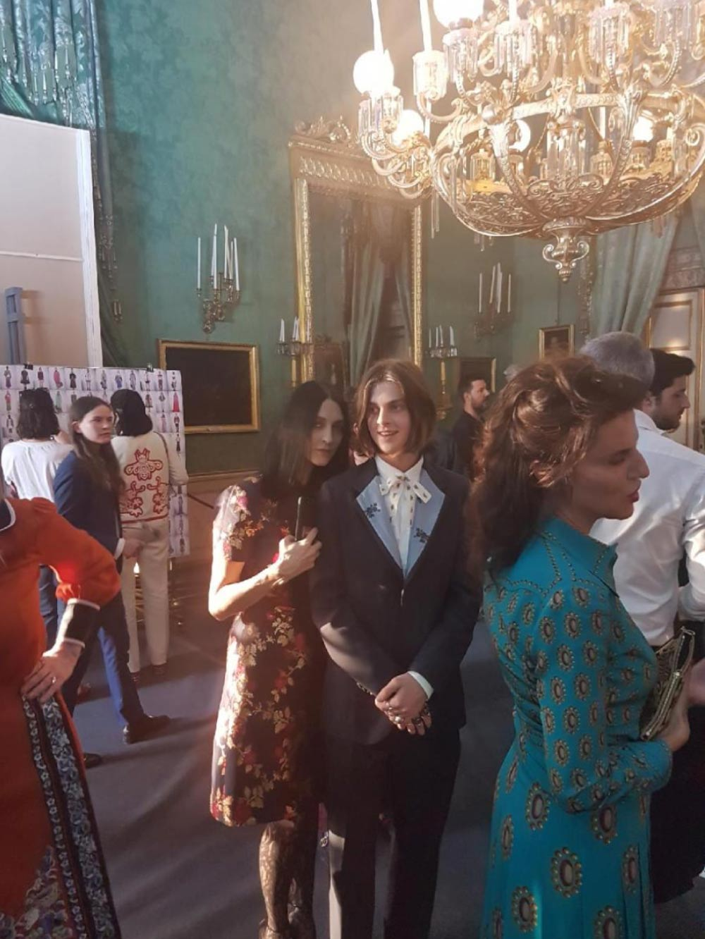 Susie and Earl Cave at The Gucci Cruise 2018 Show