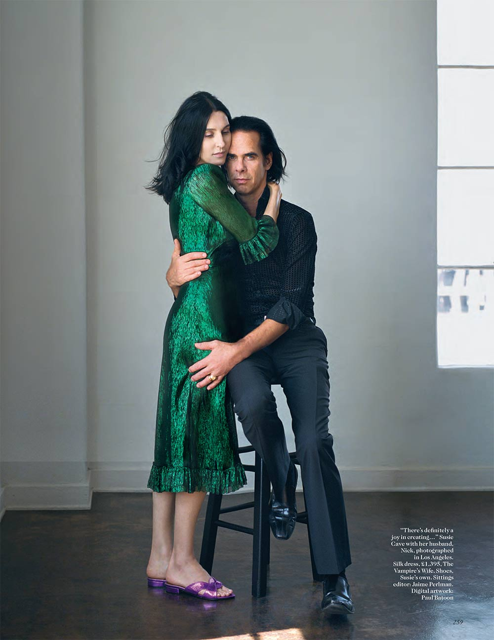 The Vampire's Wife in Vogue UK