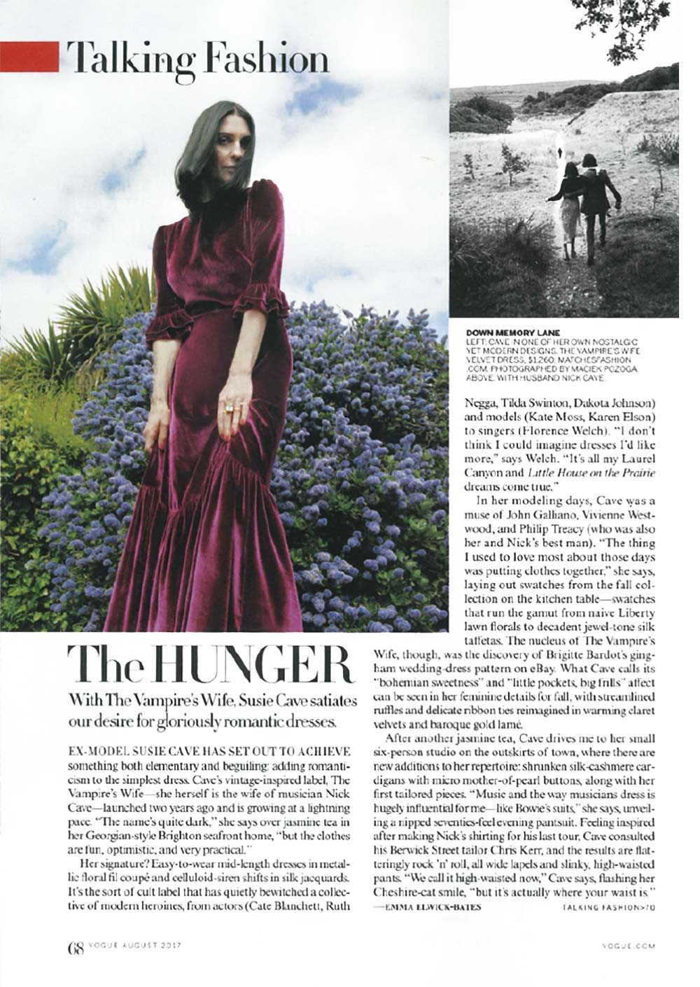 The Vampire's Wife in Vogue US