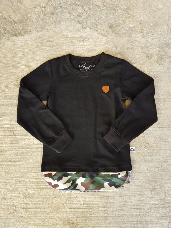 Camo tall long sleeve