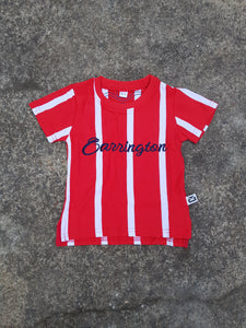 Stripe Red tee
