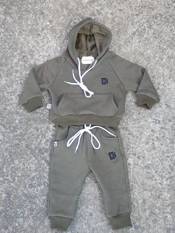 Copy of Tracksuit Set - Olive