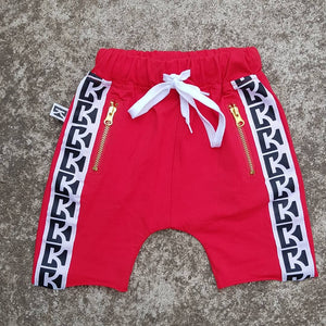 Red CK Shorts
