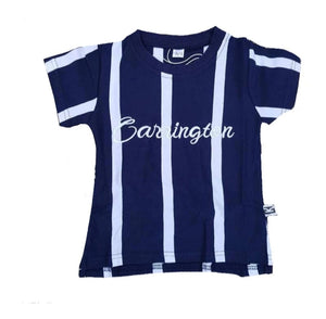 Stripe Navy tee