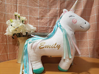 Personalised Unicorn Cushion - A Pinch of Love Gifts