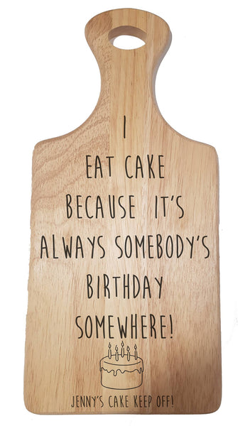 """Cake"" Chopping Board - A Pinch of Love Gifts"