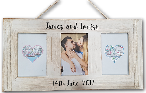 Anniversary Personalised Engraved Photo Frame