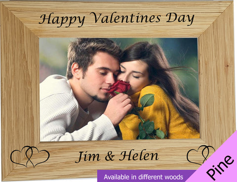 Personalised Valentines Photo Frame