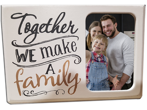 Together We Make a Family Frame - A Pinch of Love Gifts