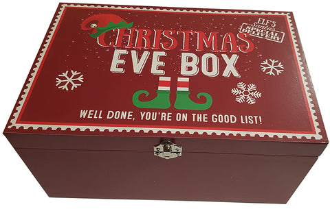 Christmas Eve Box - Red