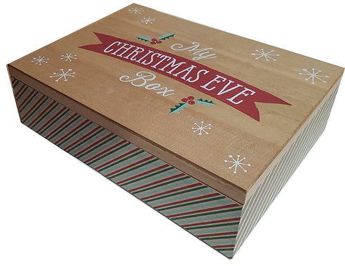 Christmas Eve Box - Wooden - A Pinch of Love Gifts
