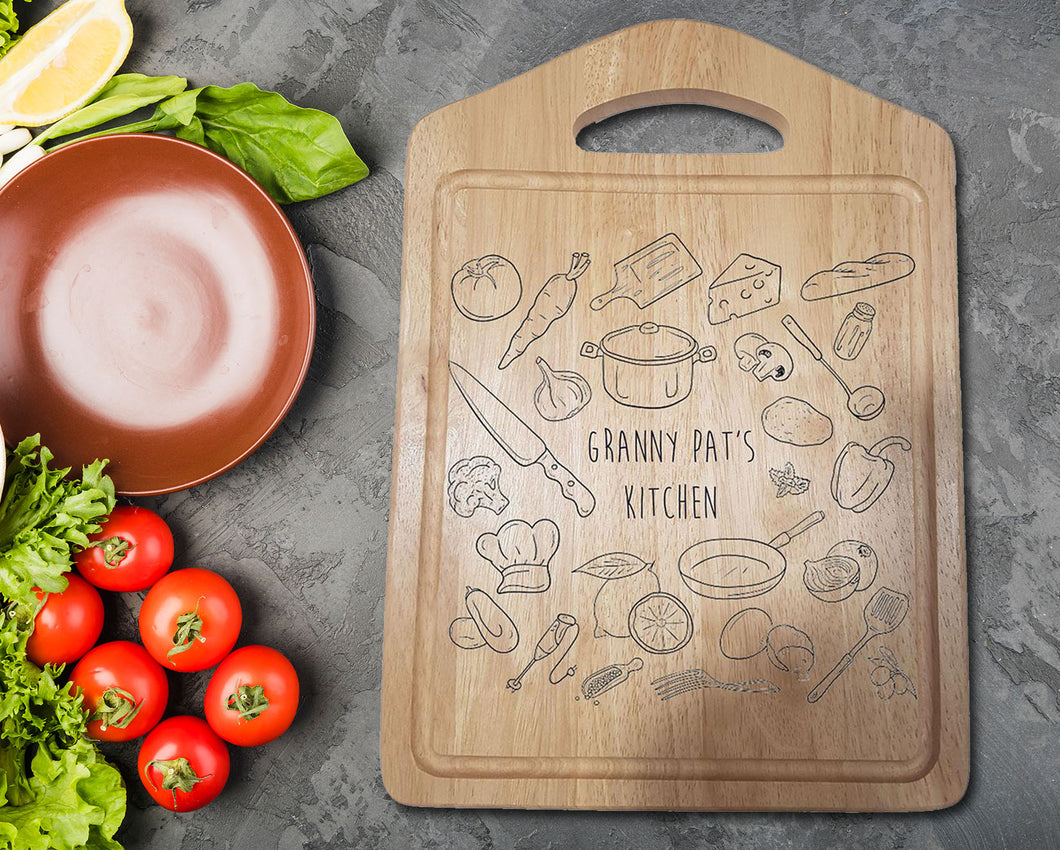 Kitchen items Chopping Board - A Pinch of Love Gifts