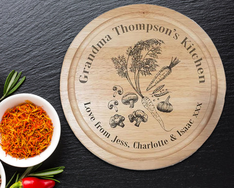 Grandma's Kitchen Chopping Board - A Pinch of Love Gifts