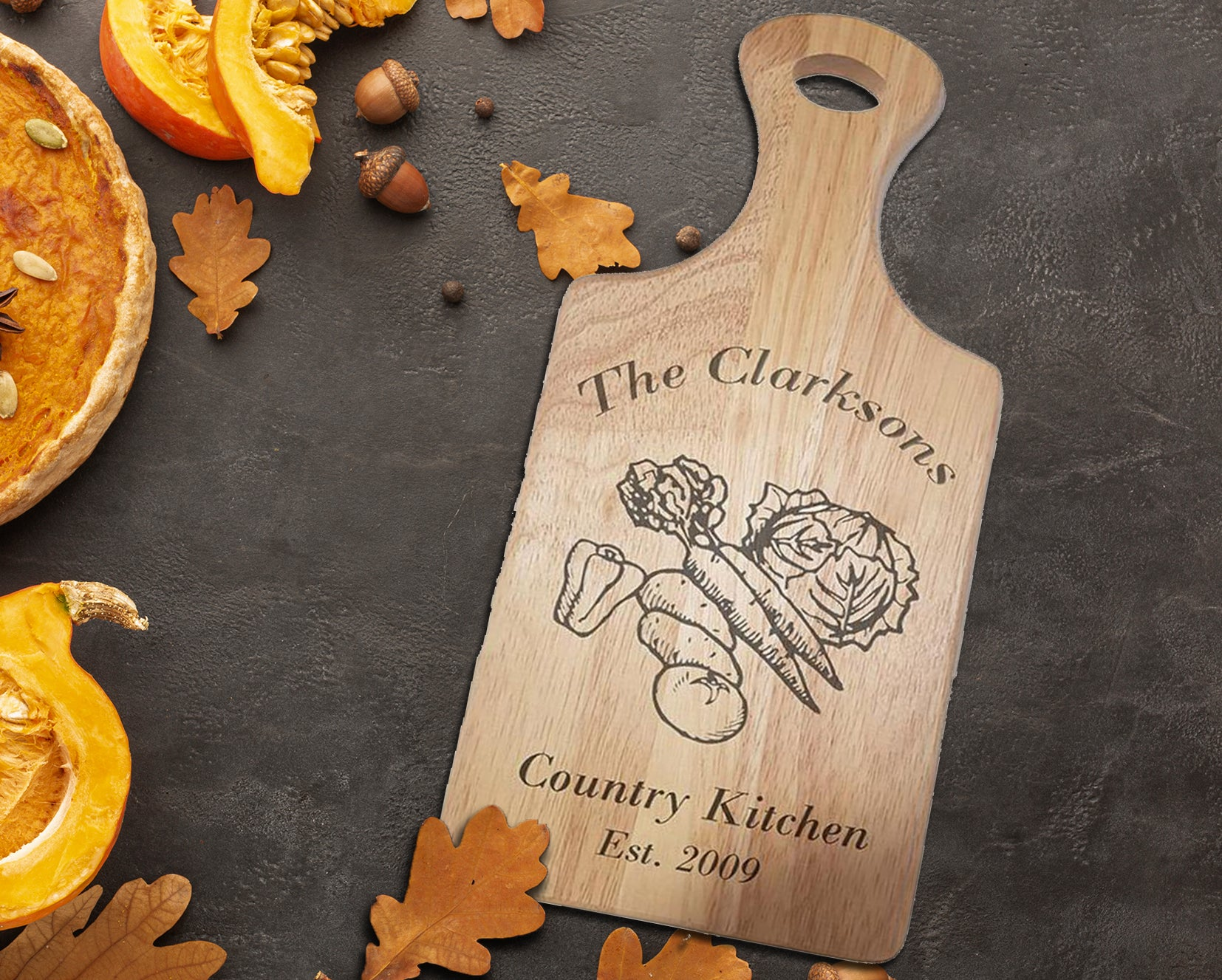 Country Kitchen Chopping Board - A Pinch of Love Gifts