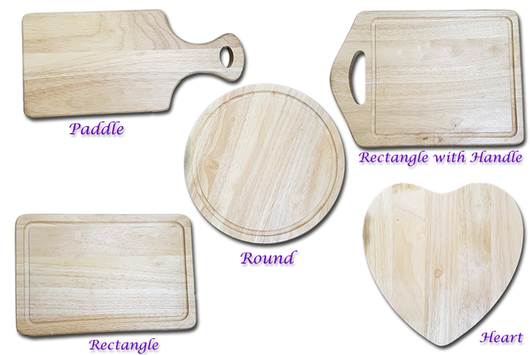 Mr & Mrs Personalised Chopping Board - A Pinch of Love Gifts