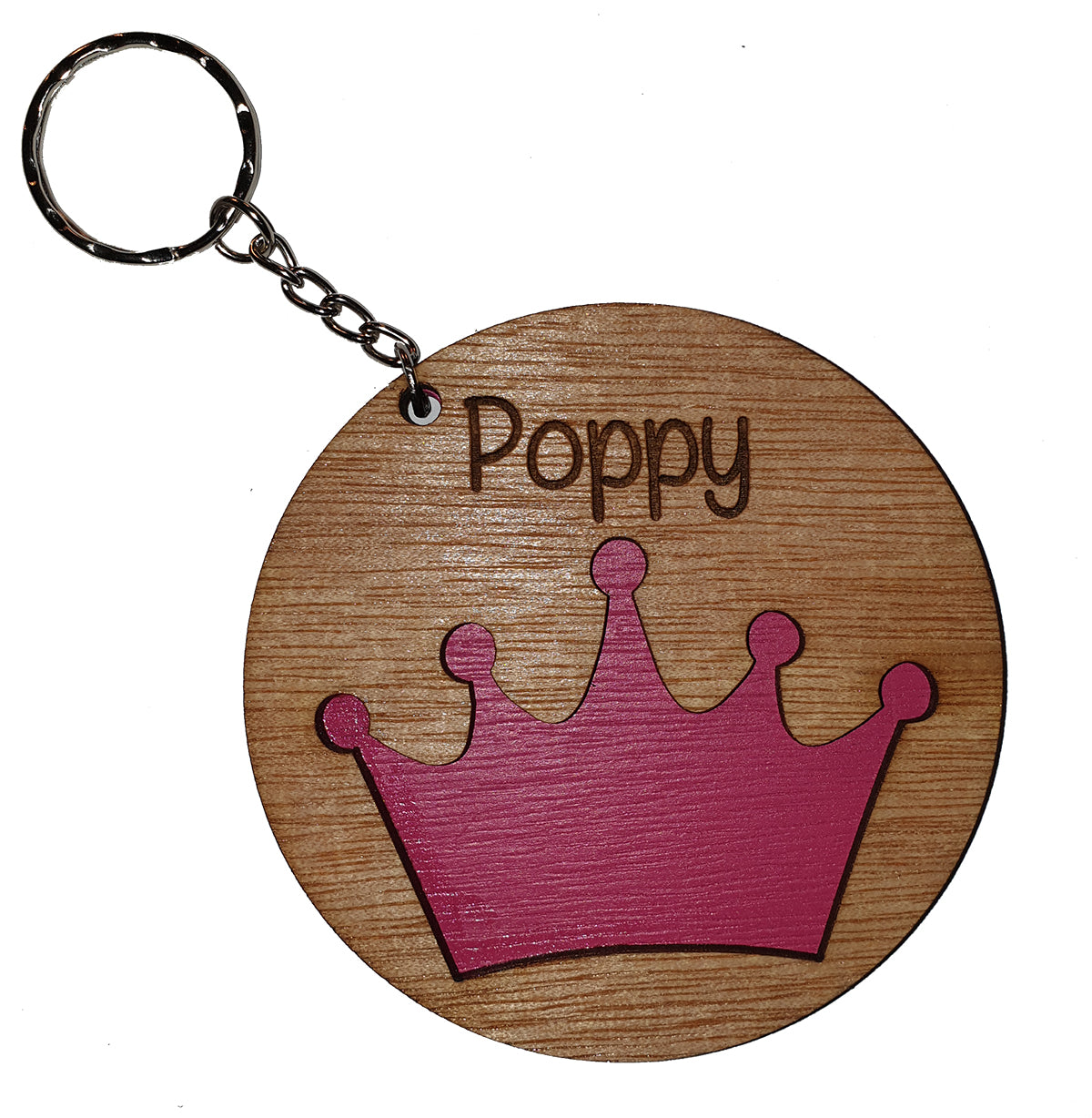 Book Bag Tag - Crown - A Pinch of Love Gifts