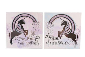 Unicorn Dreams Plaque - A Pinch of Love Gifts