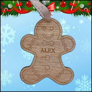 Christmas Tree Hanger - Gingerbread Man - A Pinch of Love Gifts