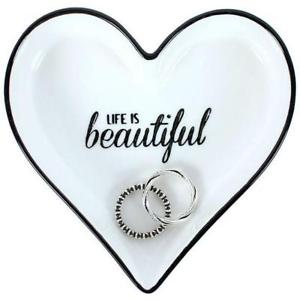 Life is Beautiful Trinket Dish - A Pinch of Love Gifts