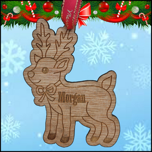 Christmas Tree Hanger - Reindeer - A Pinch of Love Gifts