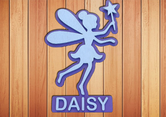 Fairy name plaque - A Pinch of Love Gifts