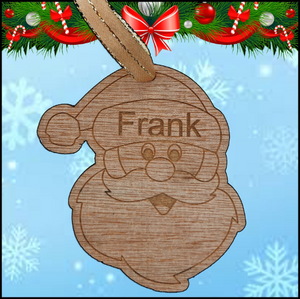 Christmas Tree Hanger - Santa - A Pinch of Love Gifts