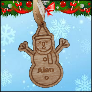 Christmas Tree Hanger - Snowman - A Pinch of Love Gifts