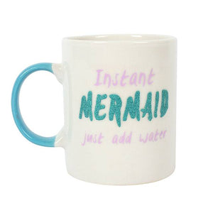 "Ceramic Mug ""Instant Mermaid"" - A Pinch of Love Gifts"