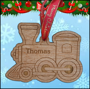 Christmas Tree Hanger - Train - A Pinch of Love Gifts